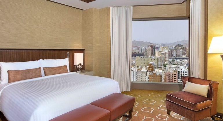 Marriott Makkah chambre