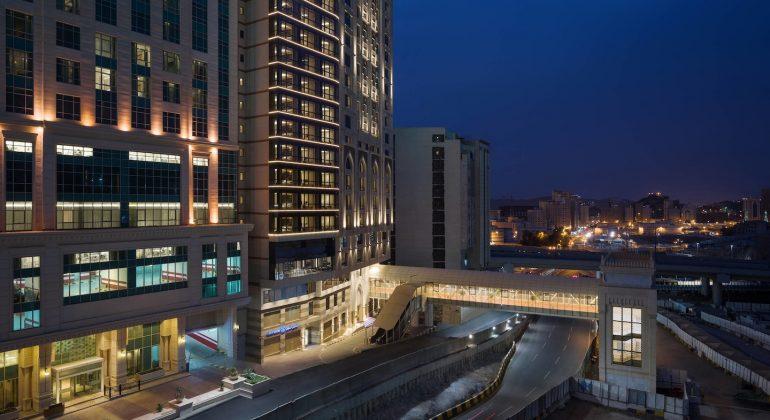 Sheraton Makkah Facade